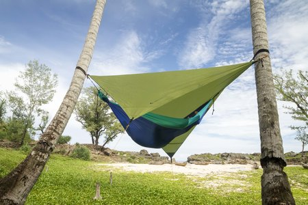 How to choose hammock camping tarp
