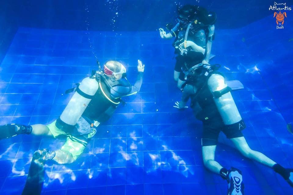 bali scuba diving course