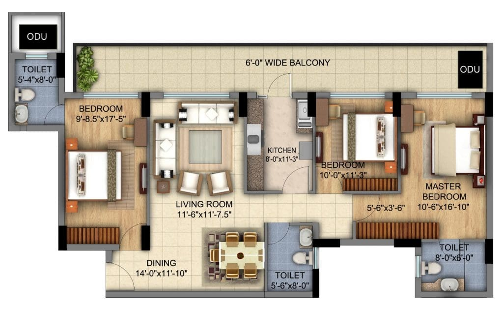Considering an Open Plan Layout to