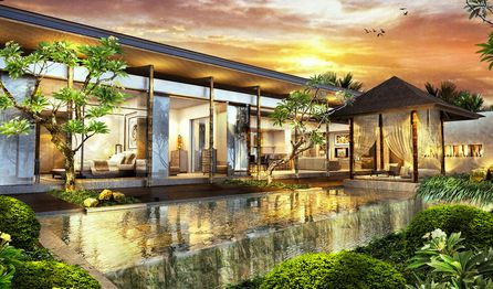 Here-s the 4 bedroom villa at Seminyak, Bali you can reserved